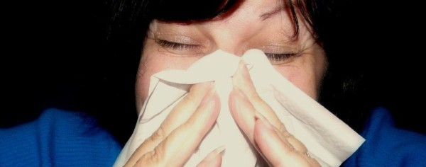Some people get common symptoms of hay fever, such as sneezing, all year round,